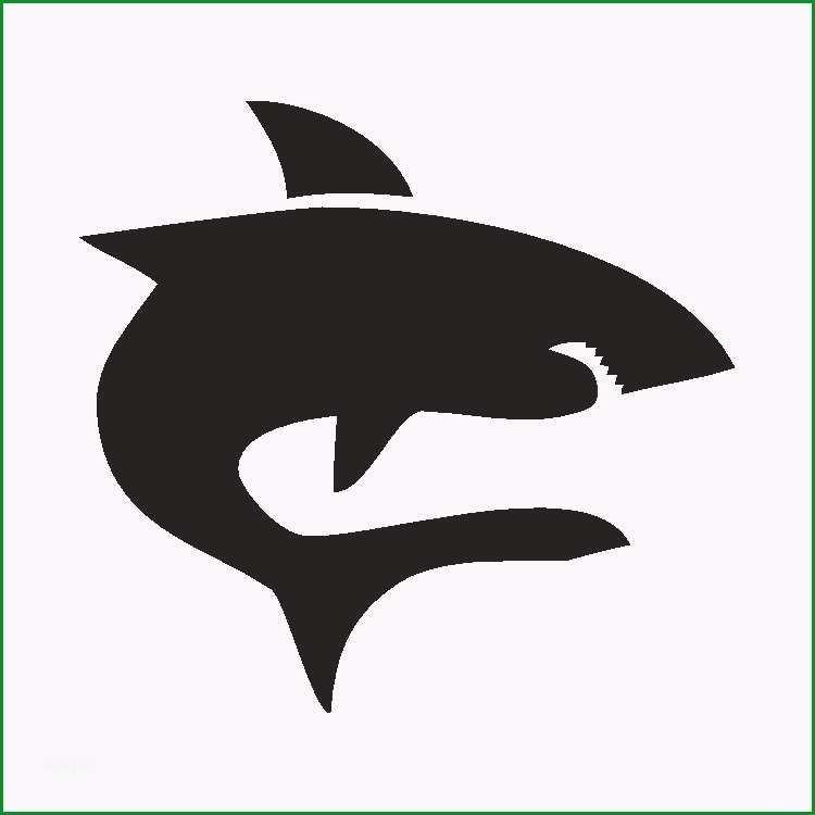 selbstklebe schablone hai eulenspiegel