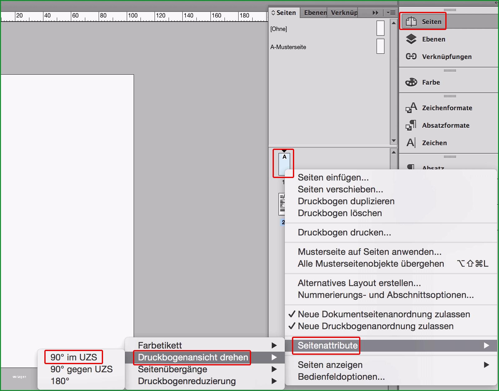 flyervorlage indesign erstellen tutorial