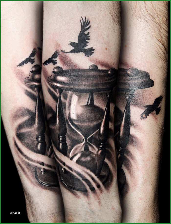 tattoo motive sanduhr