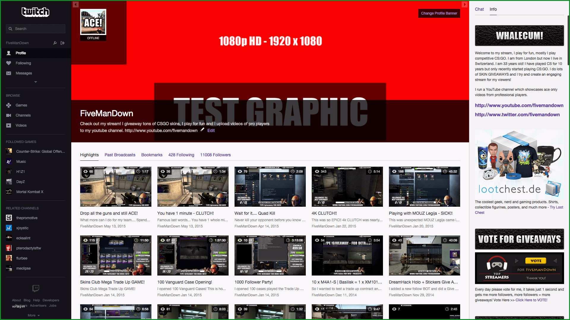 twitch overlays your source for premium twitch designs twitch kanal design vorlage