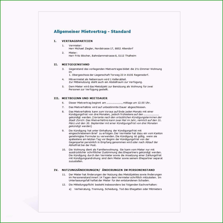 15 wohnungsmietvertrag