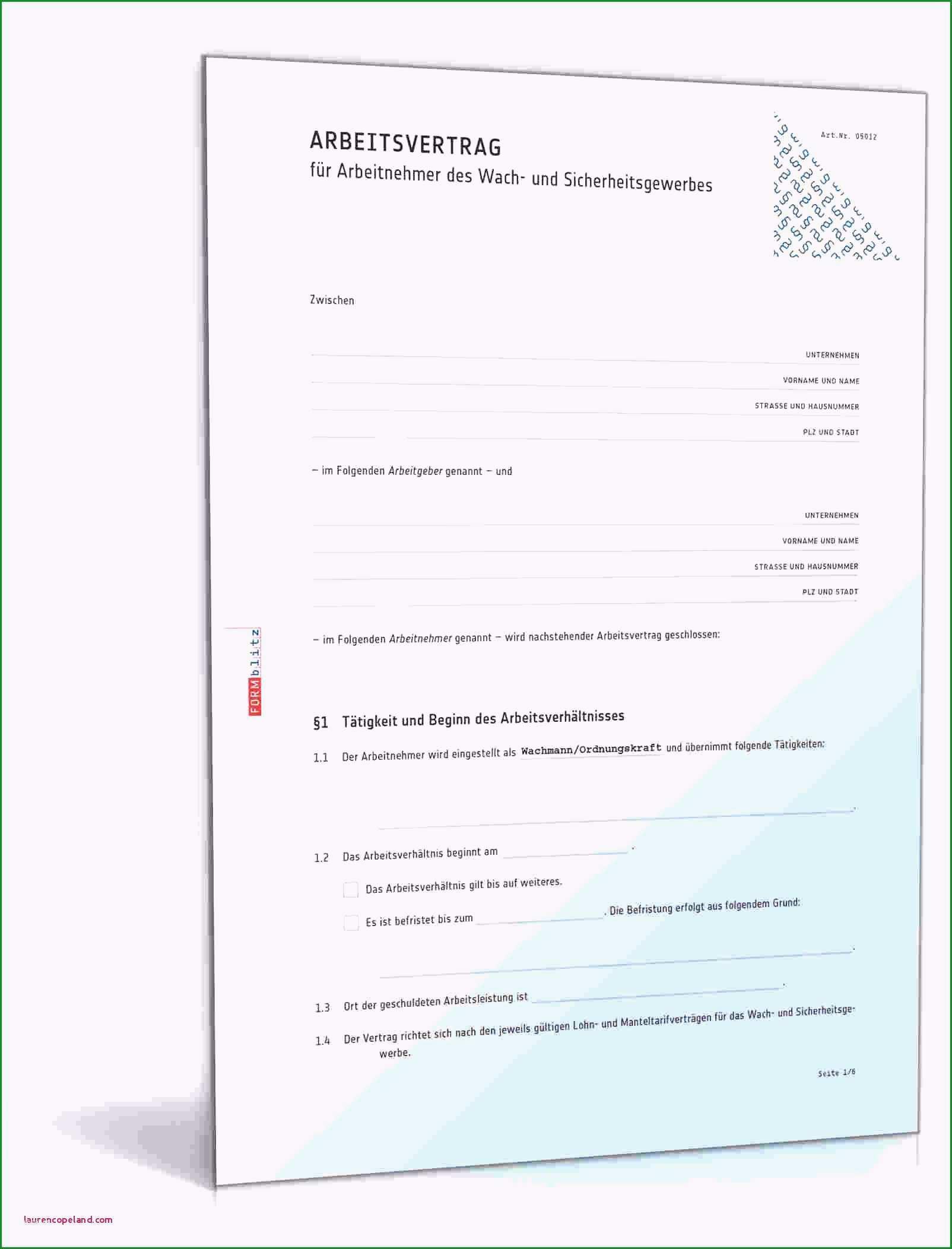 nstleistungsvertrag muster vorlage