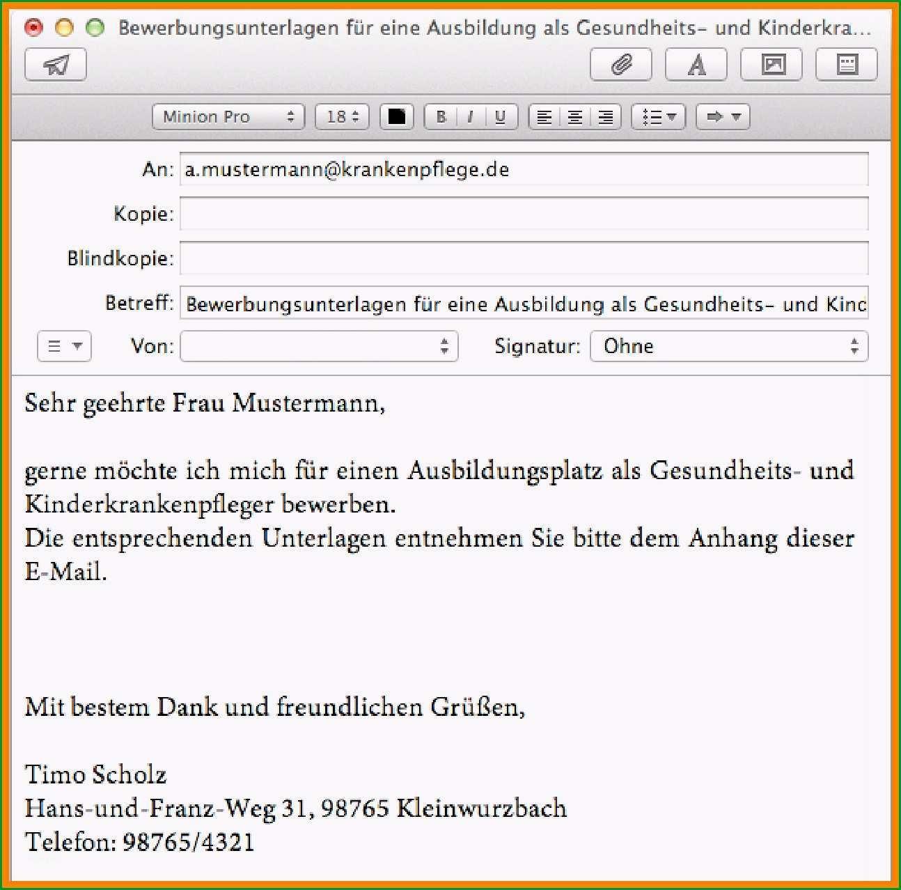 bewerbung email muster bewerbung per email vorlage schone gros anschreiben fur e mails