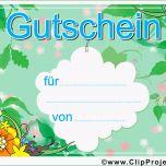 Sensationell Gutschein Vorlage Zum Download