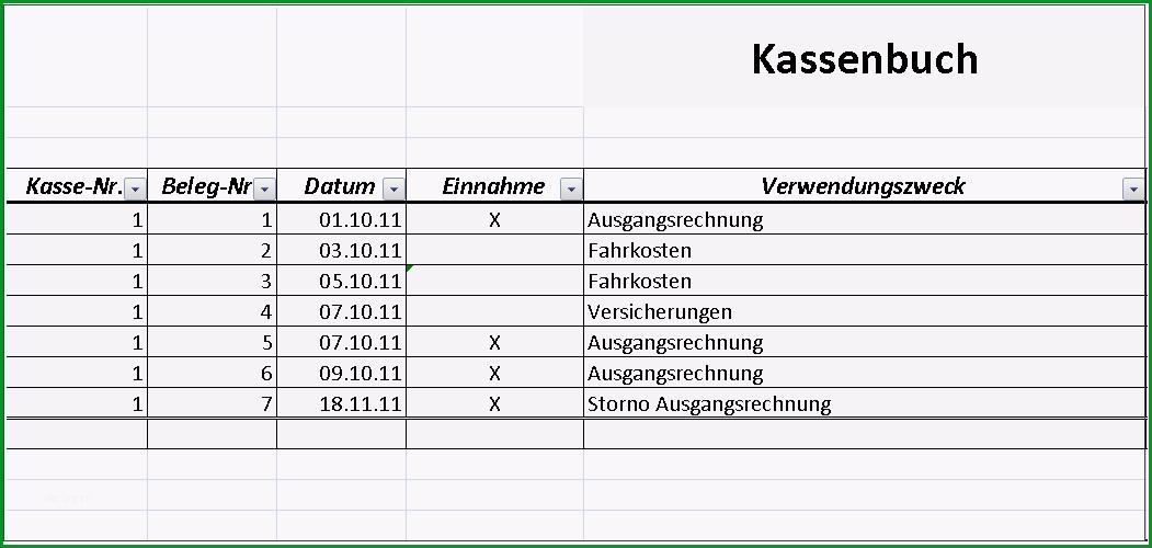 Kassenbuch