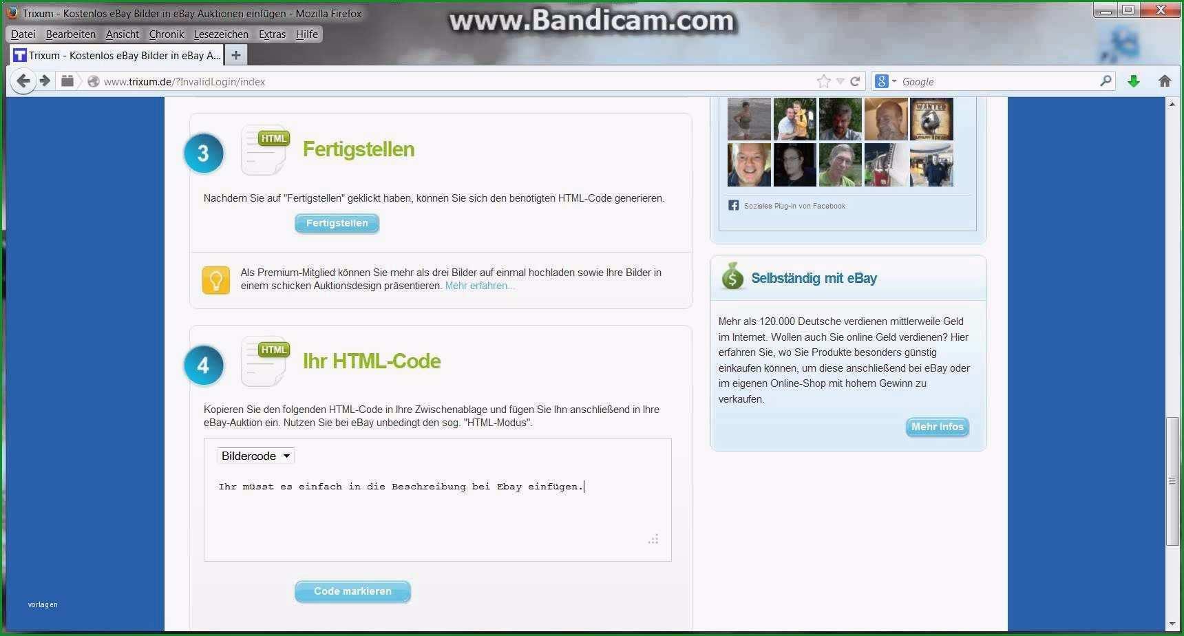 free ebay template code