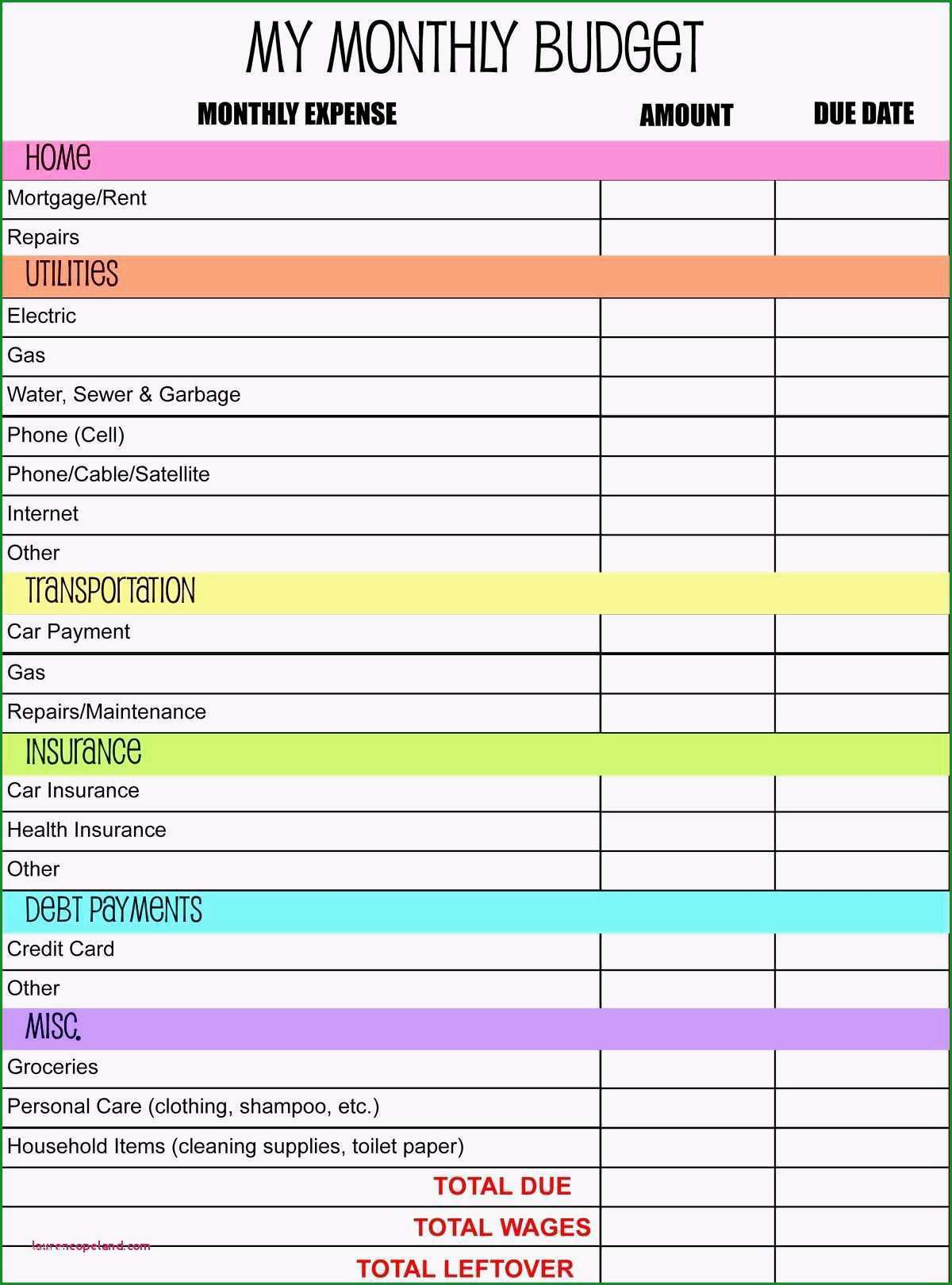 monatliche ausgaben tabelle vorlage projektplan excel 2