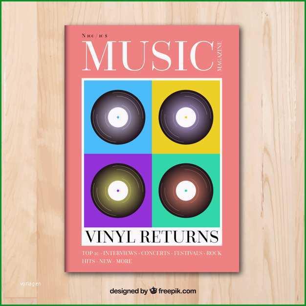 musik magazin cover vorlage