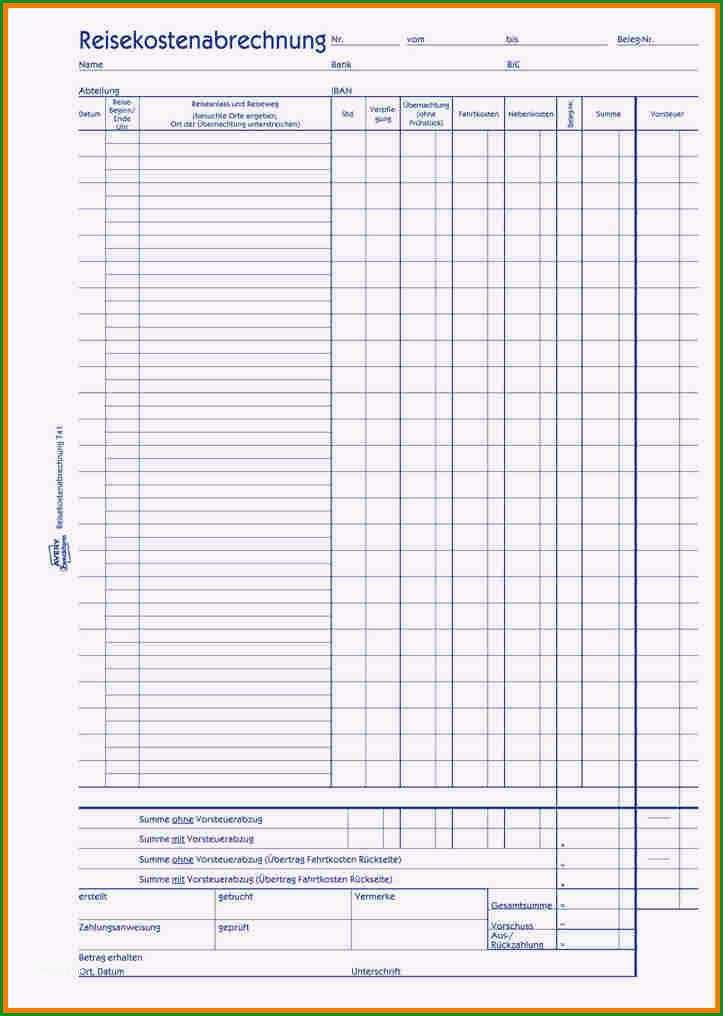 reisekostenabrechnung formular kostenlos analysis