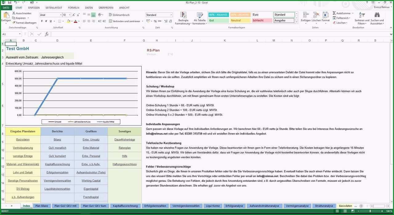 RS Plan Unternehmensplanung leicht gemacht