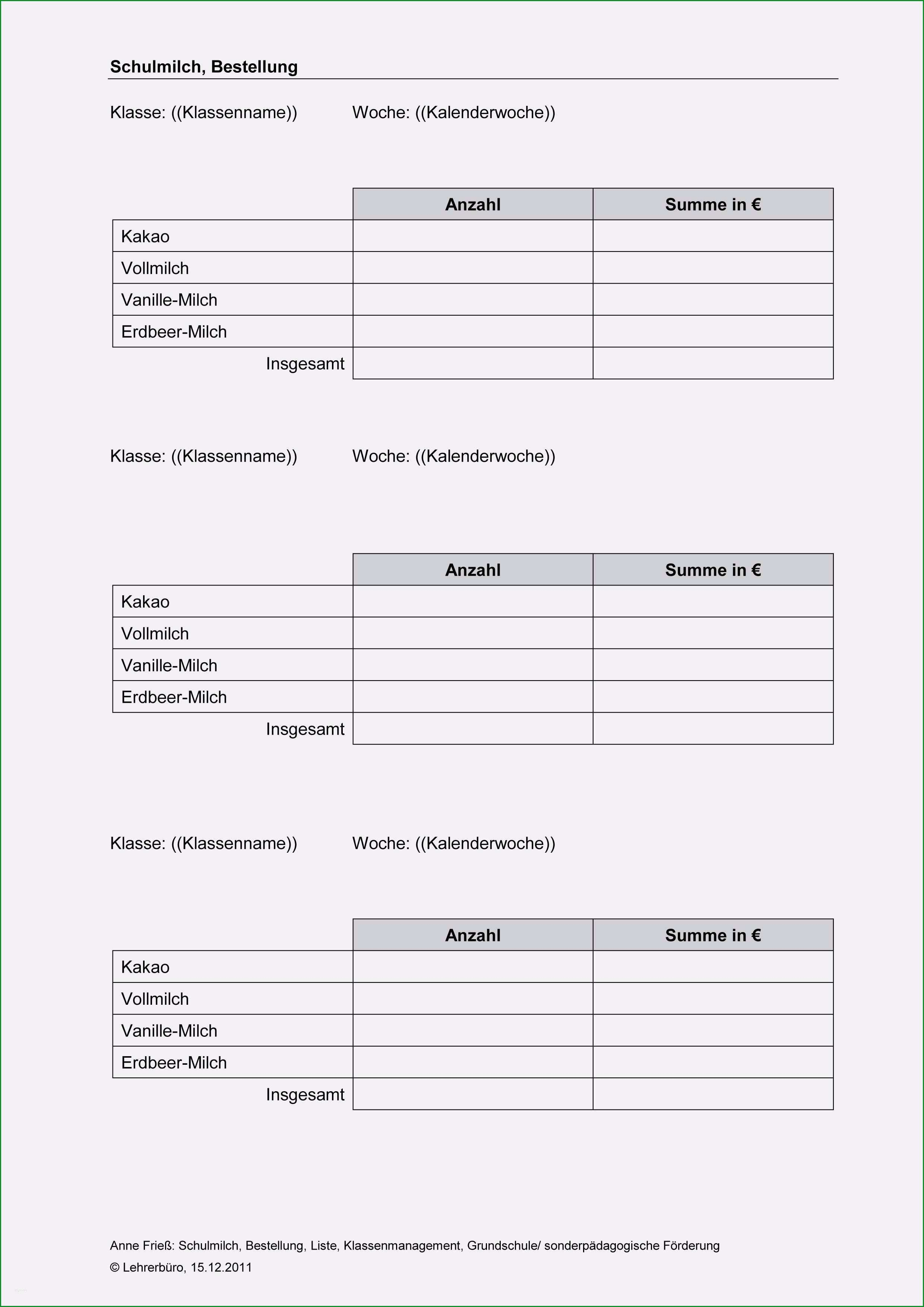 verlaufsprotokoll vorlage word genial klassenmanagement · arbeitshilfen · grundschule · lehrerburo