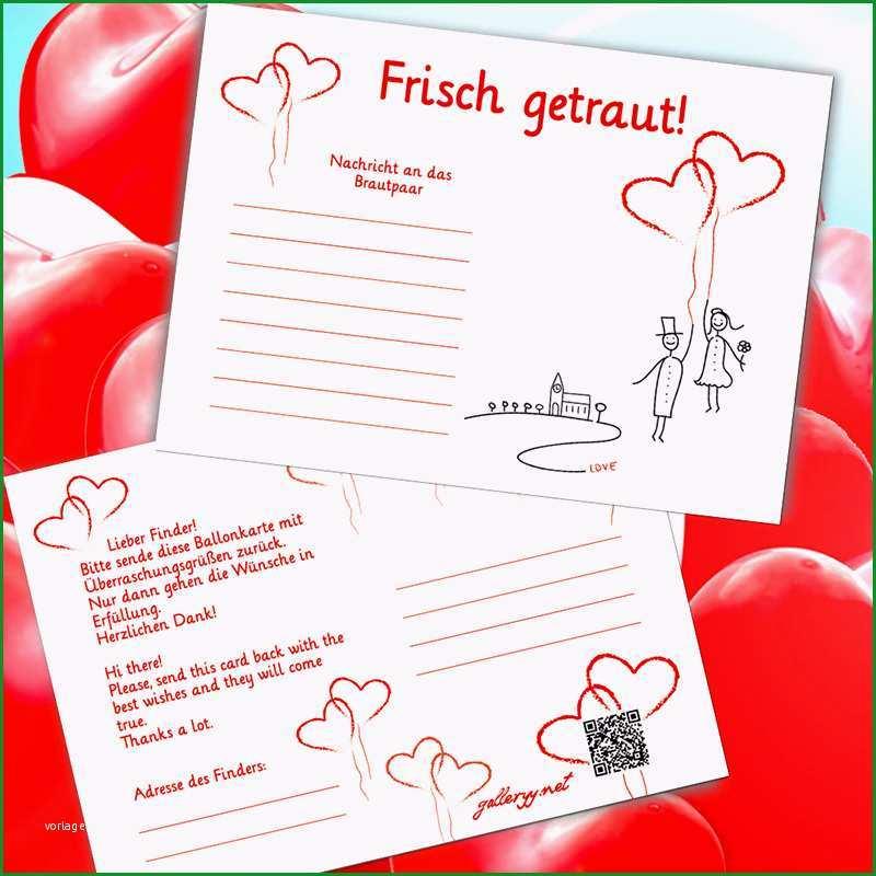 art Hochzeitsspiele Ballonflugkarten Flugkarten für Hochzeitsballons
