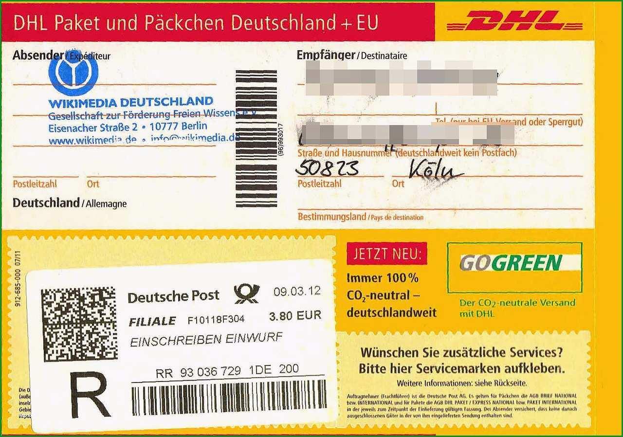 paket beschriften vorlage
