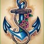Toll Anker Tattoo Motive 54 Coole Ideen Für Ihre Nächste