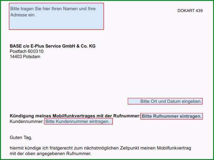 Base PDF Kuendigungsschreiben