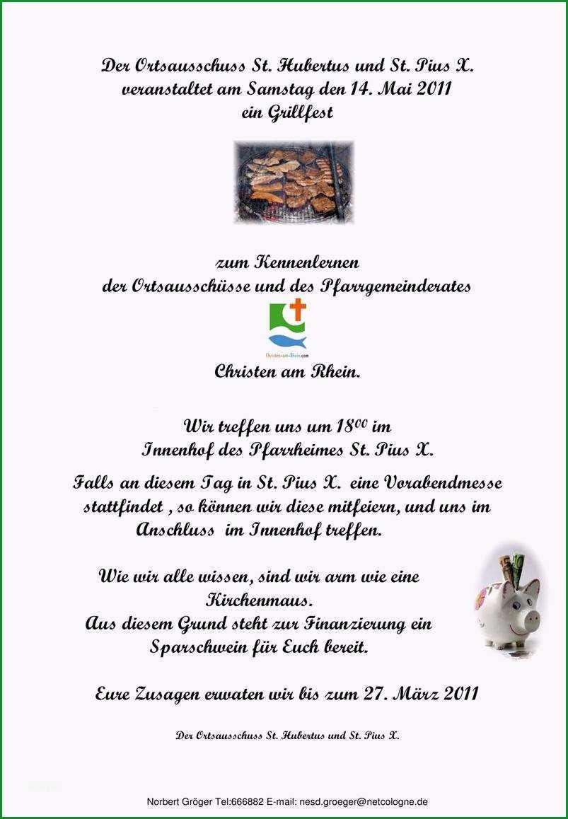Toll Einladung Faszinierend Einladung Grillparty Vorlage