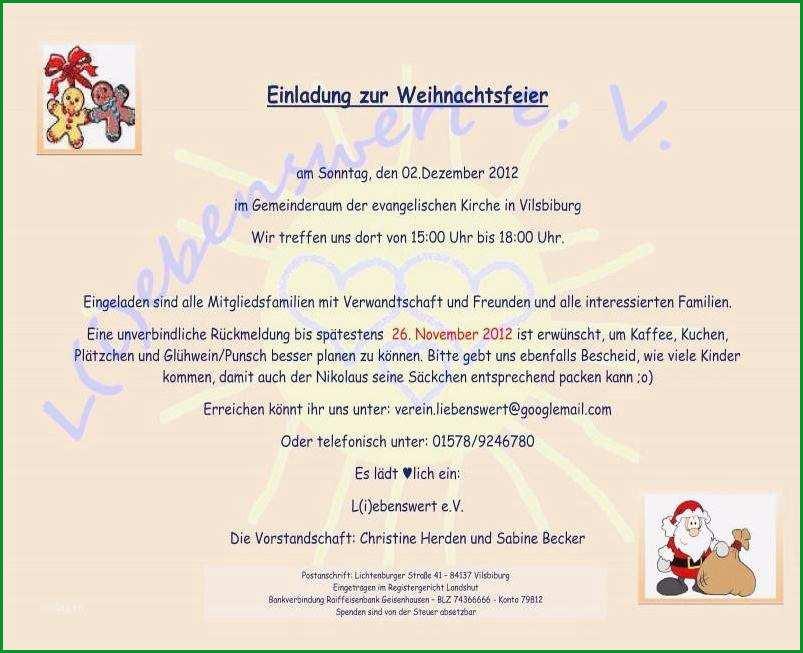 reizvoll mustertext einladung weihnachtsfeier ideen