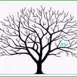 Toll Fingerabdruck Baum Vorlage Zum Ausdrucken Avec