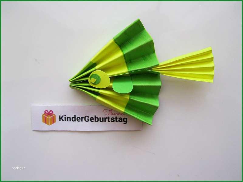fisch aus papier basteln