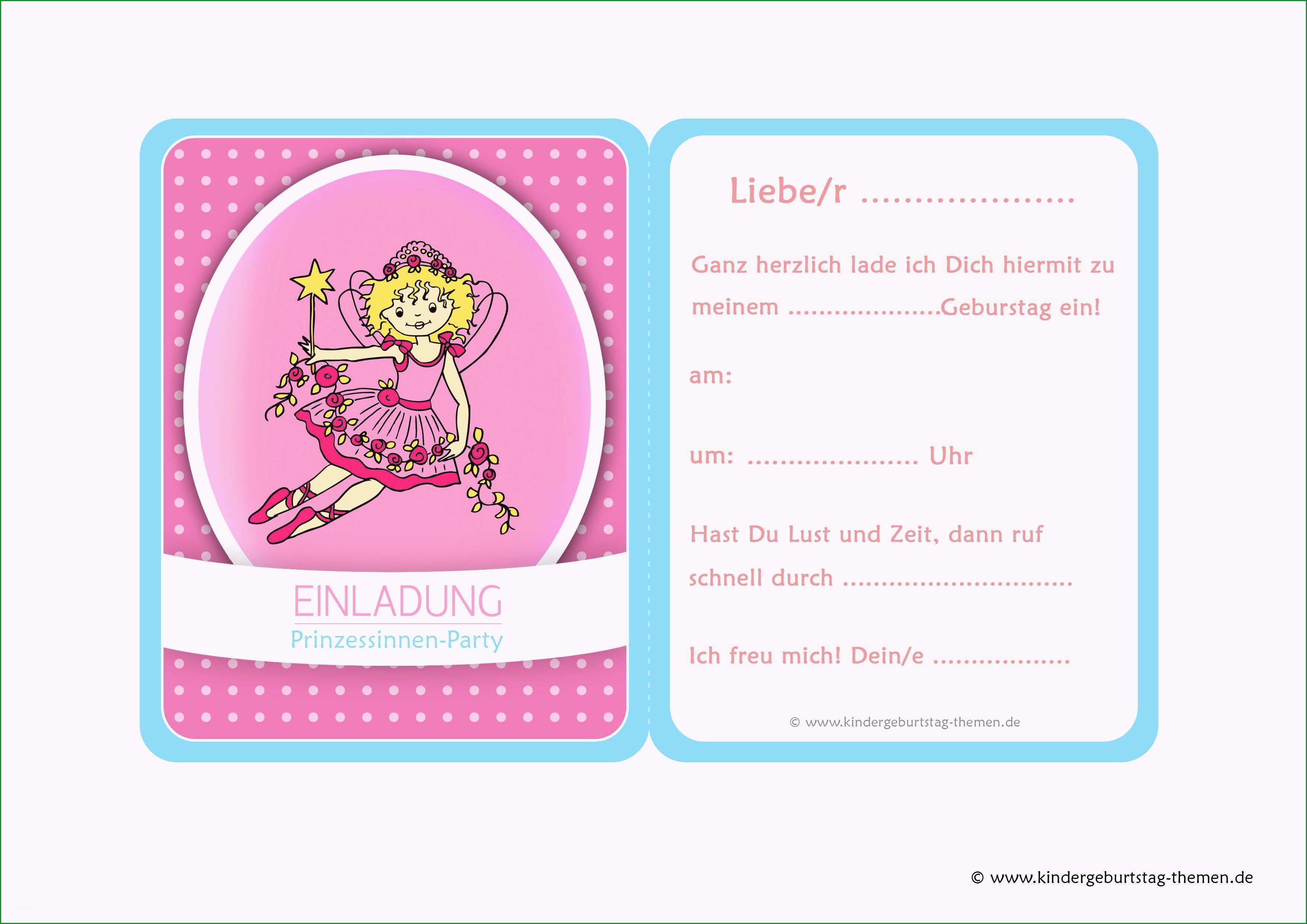 geburtstagseinladung kindergeburtstag vorlage