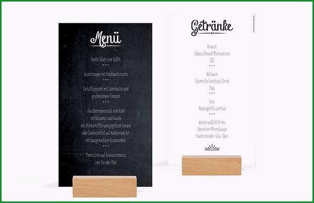 menukarte hochzeit tafel