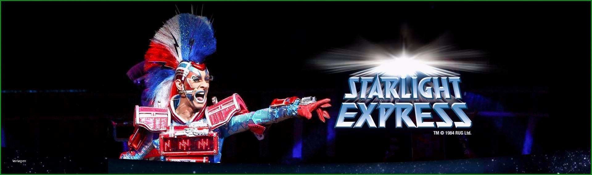 musical gutschein vorlage der beste starlight express