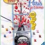 Toll Ravensburger Malen Nach Zahlen Paris Je T Aime