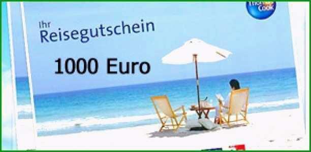 reise stornieren vorlage grosen reisegutschein kreuzfahrt flugreise bahnreise wert 1000 euro