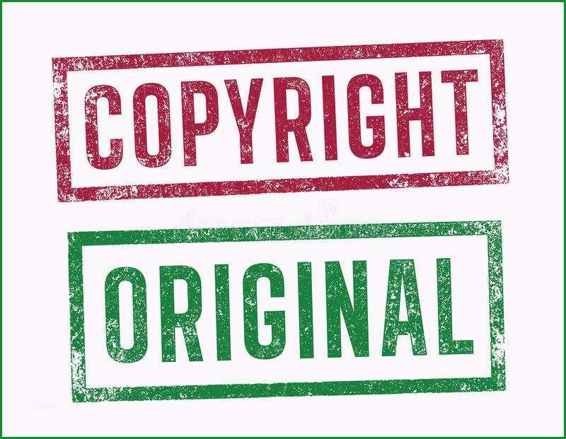stock abbildung stempel copyright und vorlage image
