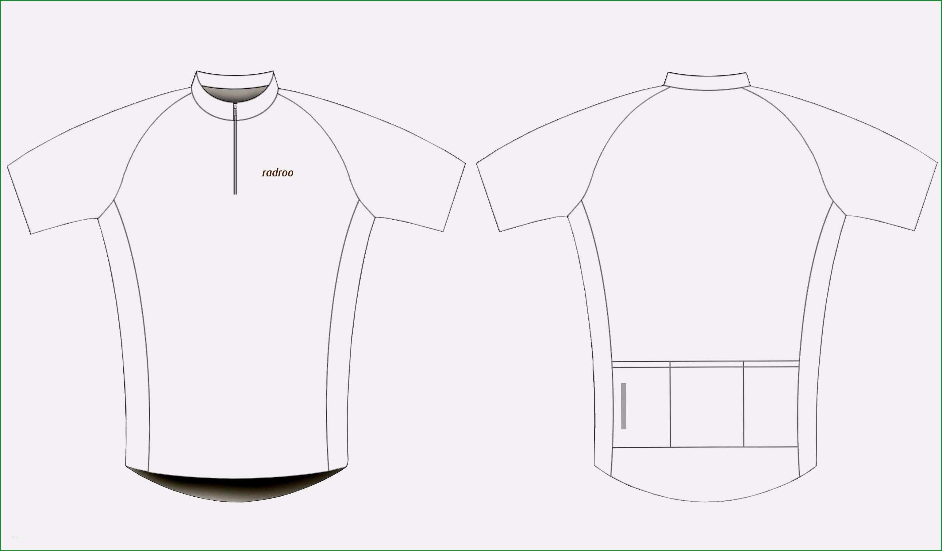trikot vorlage grosartig design radroo