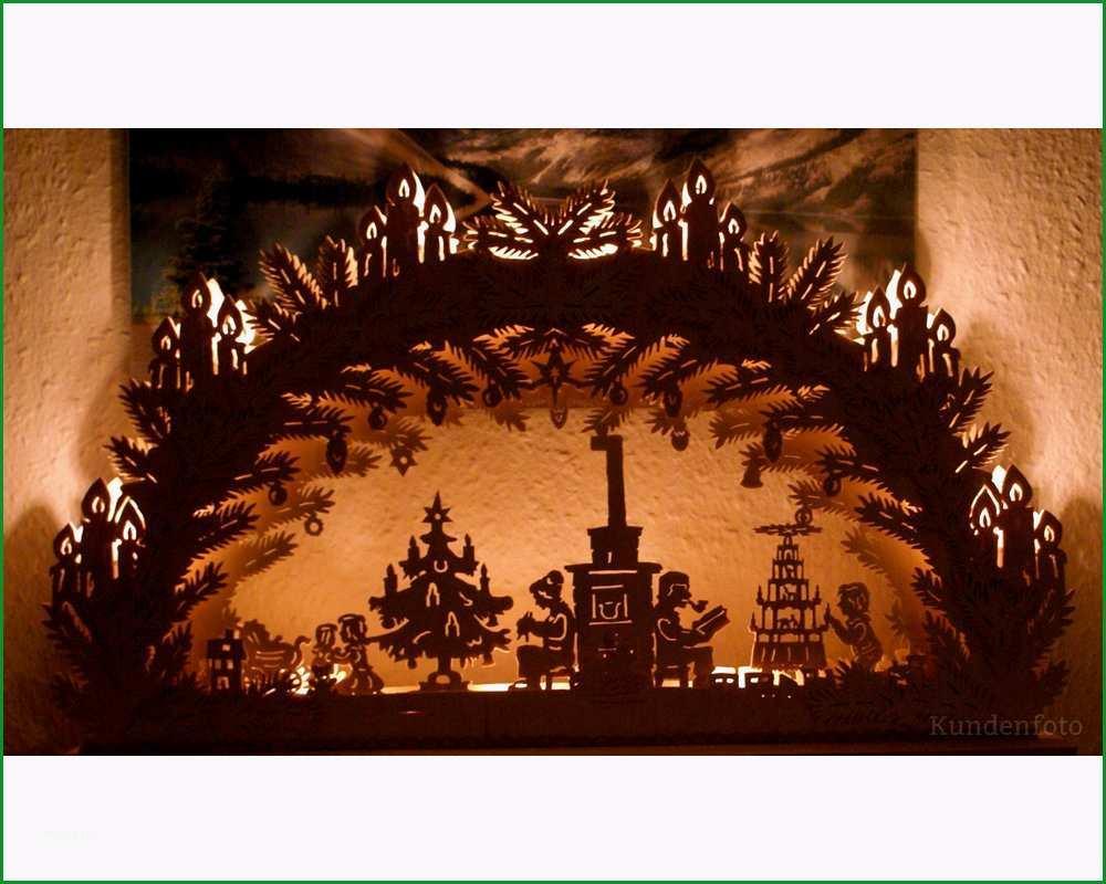 Vorlage 3D Schwibbogen Weihnachtsstube 50cm