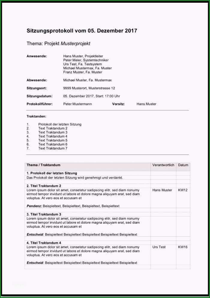 vorlage mitarbeitergesprach protokoll word schonste protokollvorlage kostenlos word and excel