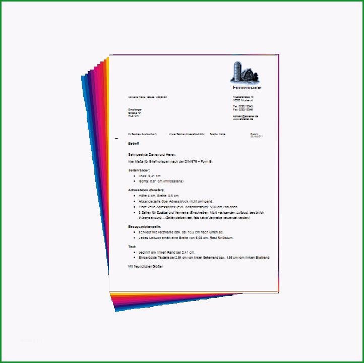 briefvorlage erstellen