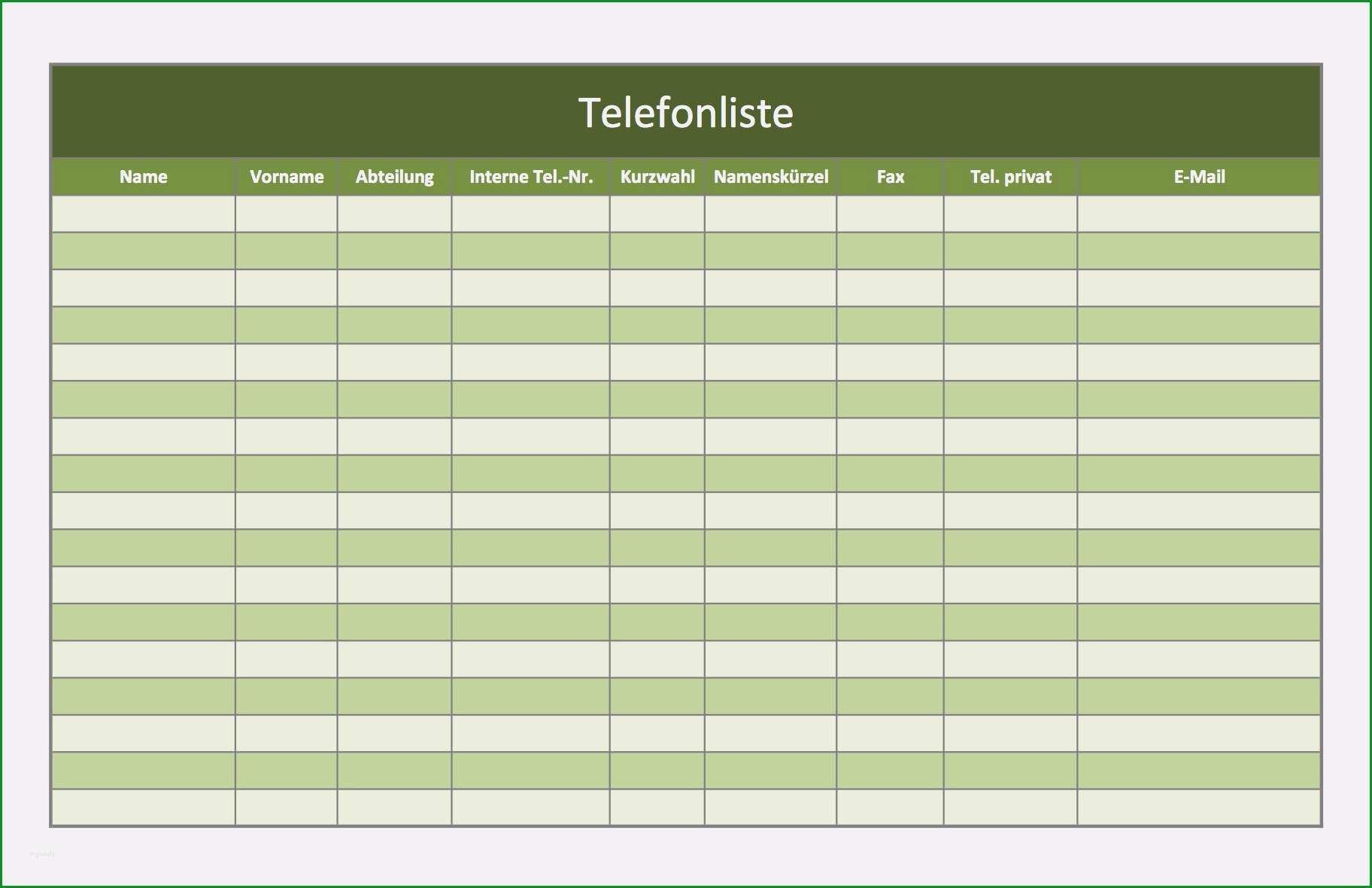 adressbuch vorlage zum drucken inspiration telefonverzeichnis als excel vorlagen kostenlos