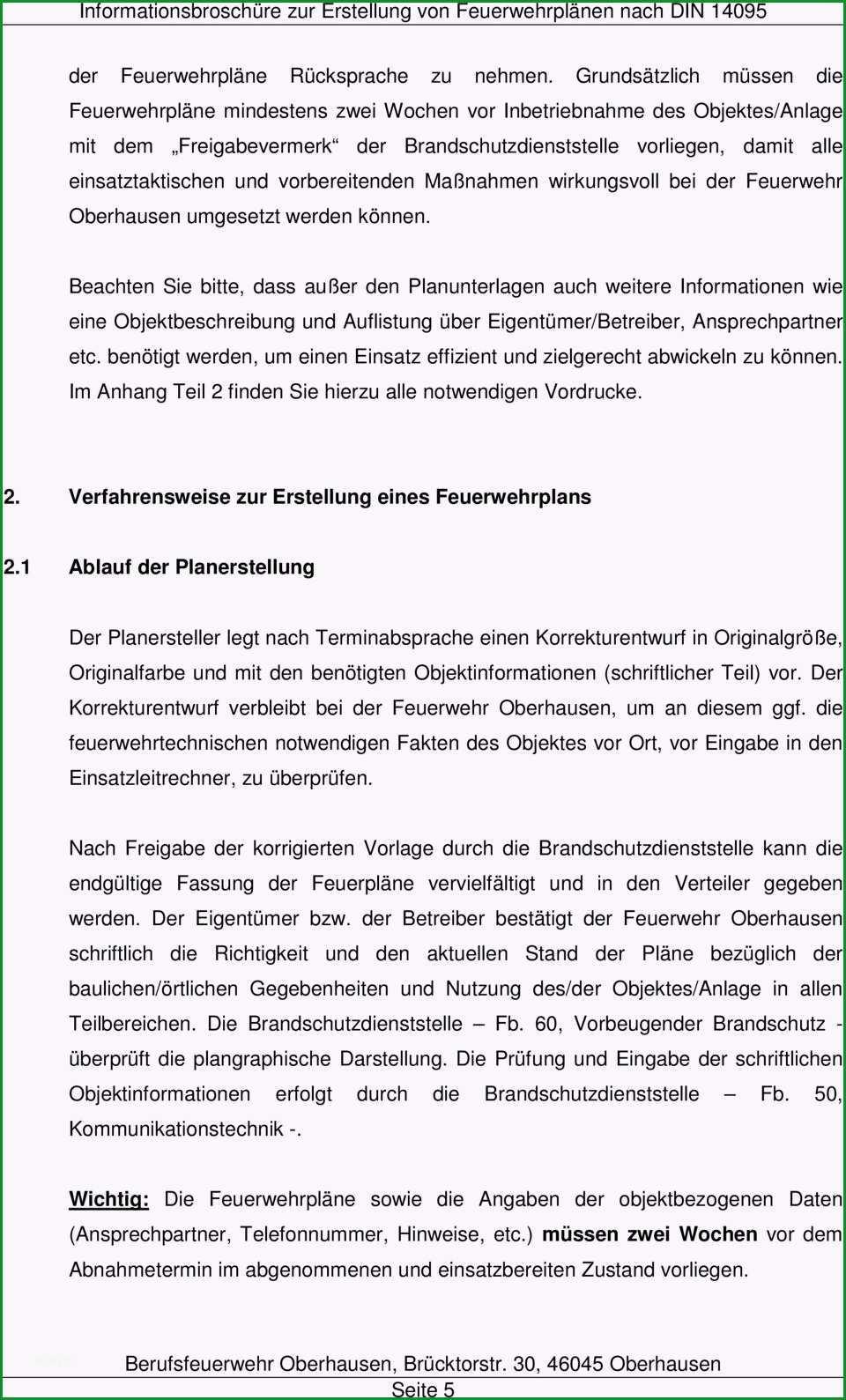 Berufsfeuerwehr oberhausen information zur erstellung von feuerwehrplaenen nach din