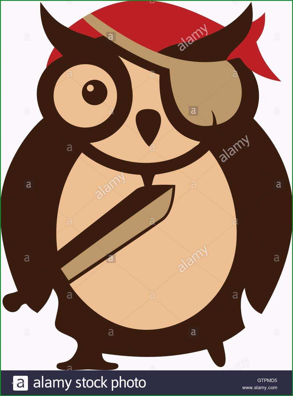 stockfoto cartoon logo symbol vorlage eule design piraten symbol logo vektor logo vorlage tier design eule vorlage abstrakte logos des