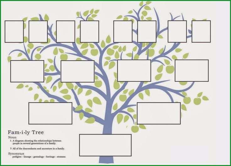 stammbaum vorlage