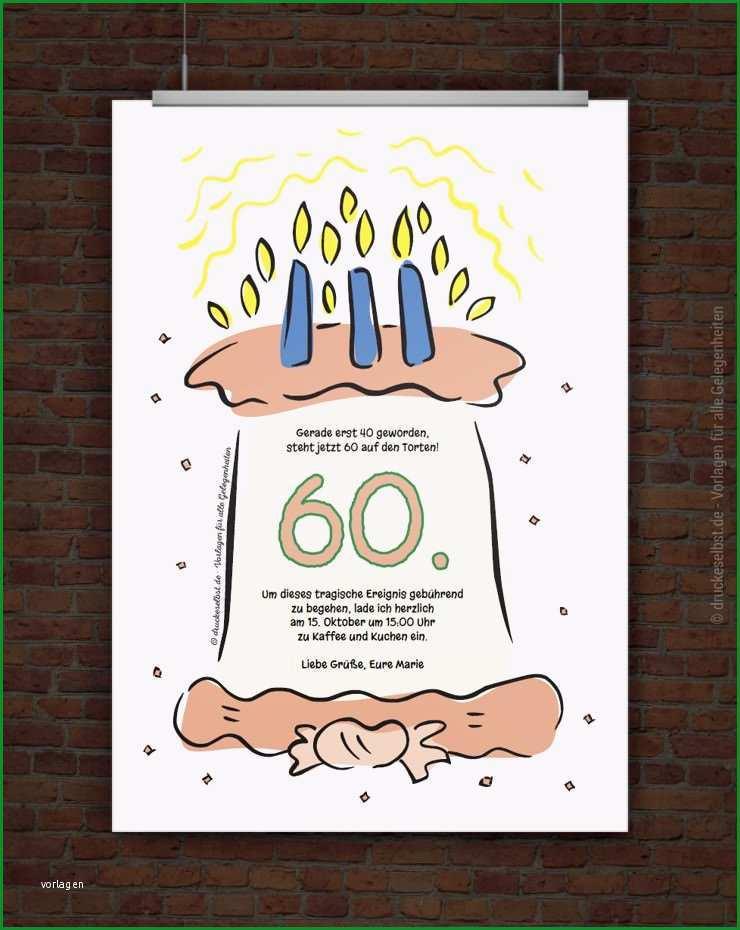 einladung 60 geburtstag
