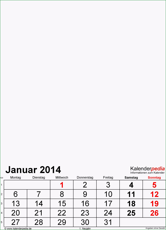 fotokalender 2014 excel vorlagen