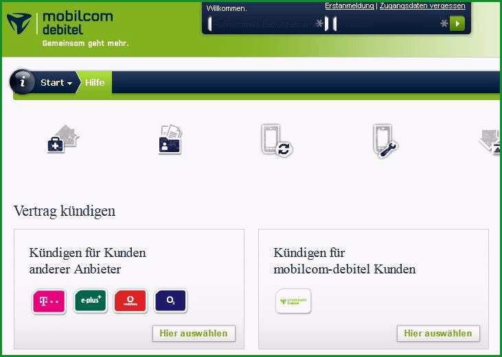 mobil debitel kundigung vorlage