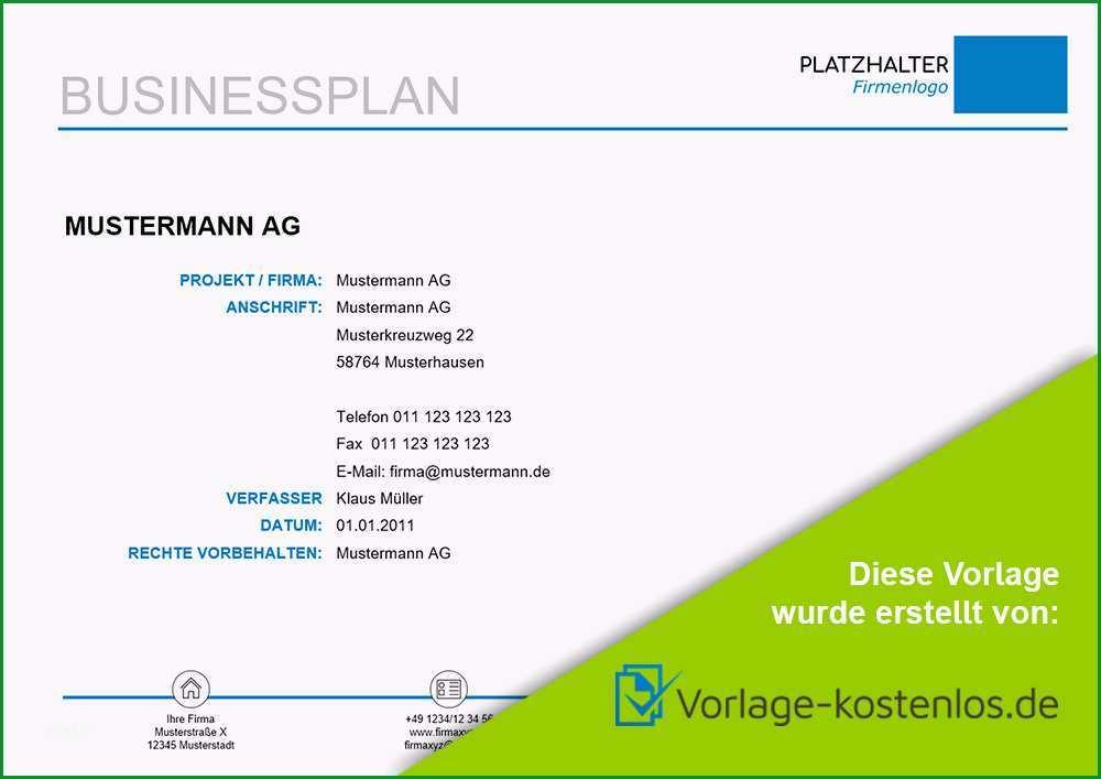 tag muster businessplan s=kontact