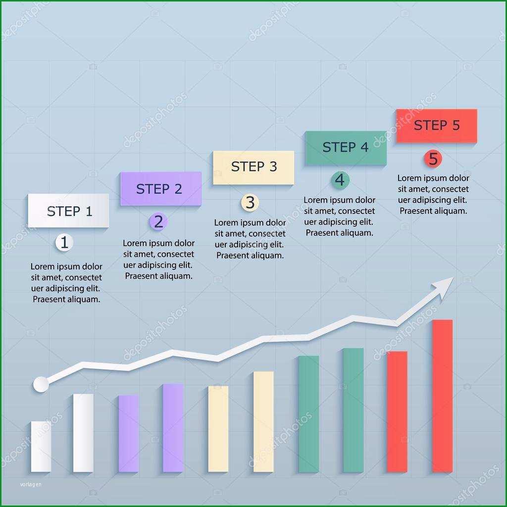 Überraschen Strategiepapier Vorlage Mit Dem Zeitplan — Stockvektor