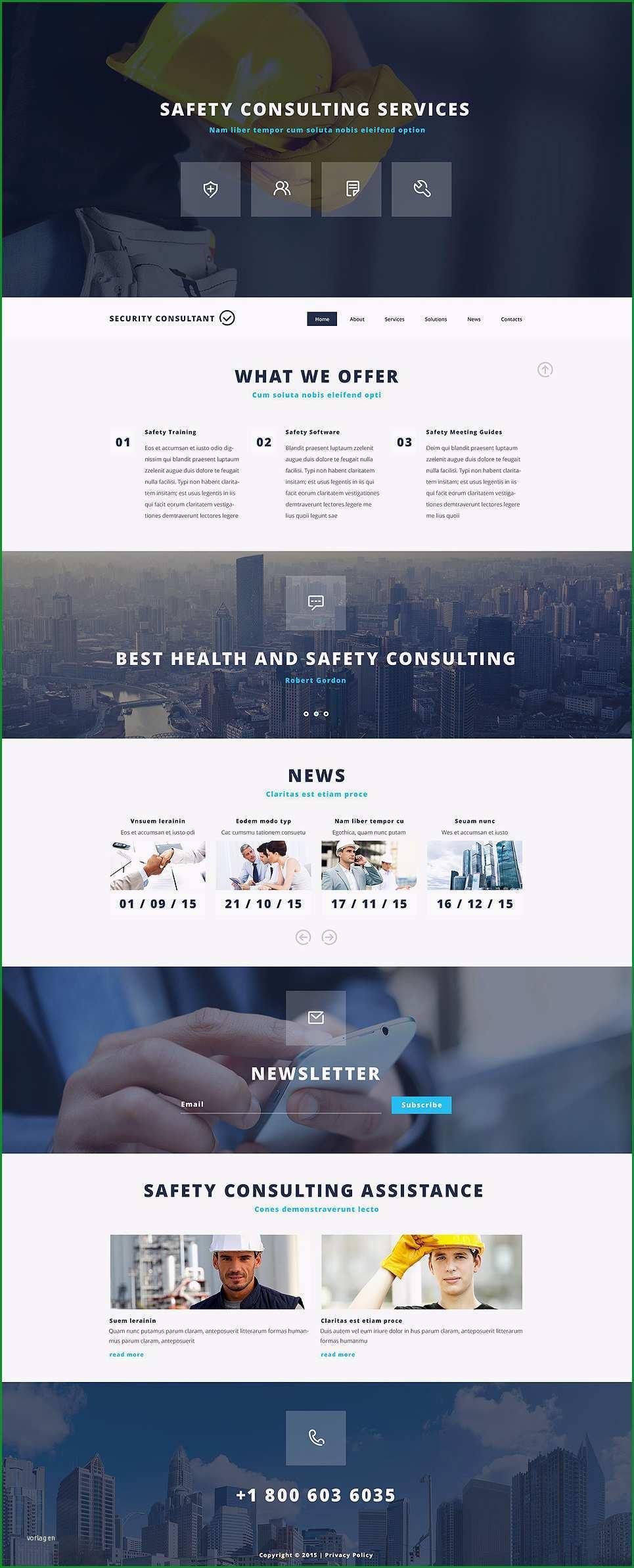 website vorlagen tipo