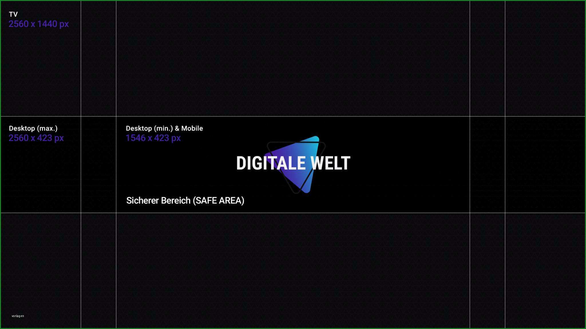 youtube kanalbild template 2018 digitalewelt