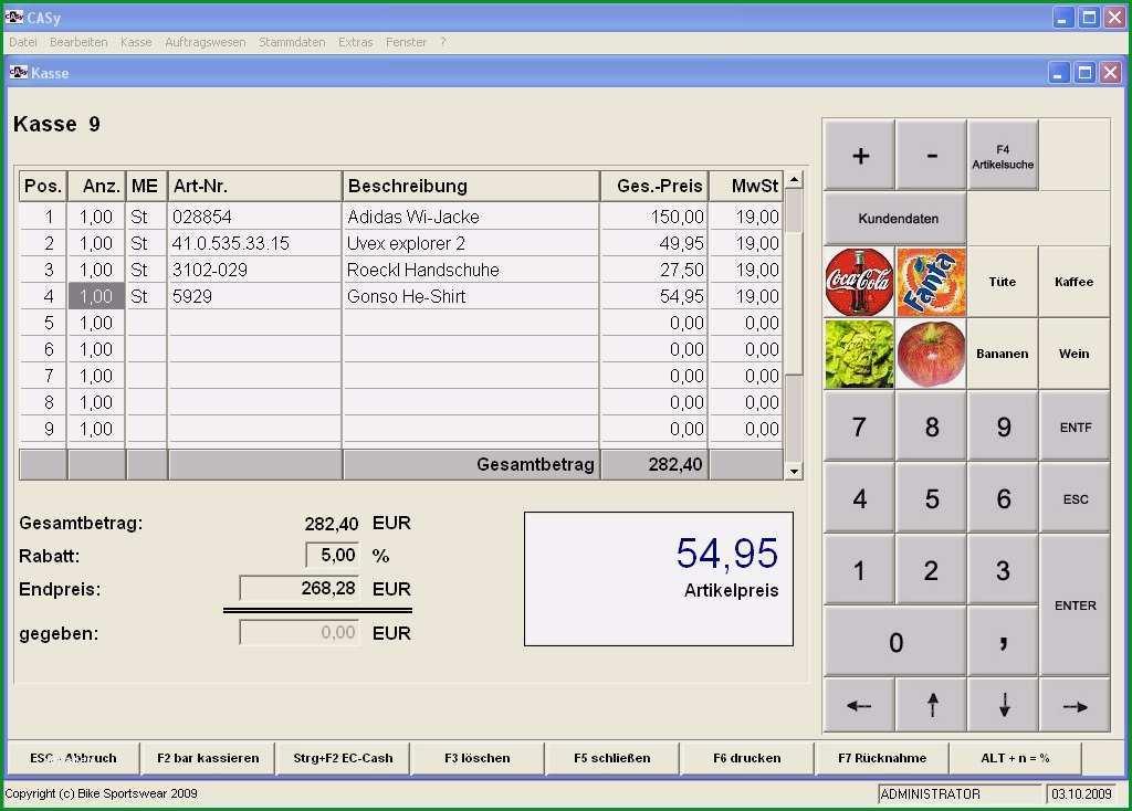 zahlprotokoll kasse vorlage excel genial professionelle kassen software etikettendruck