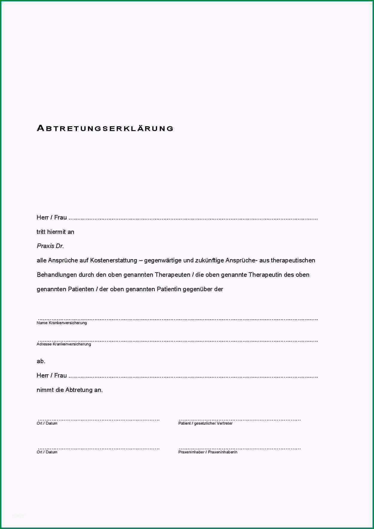 15 abtretungsvertrag muster