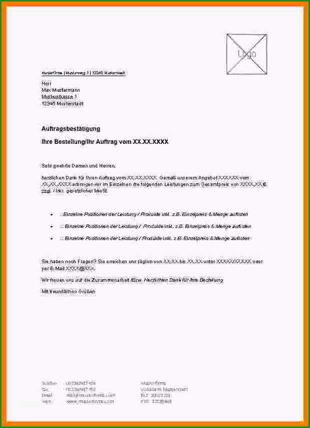 15 bestellung musterbrief