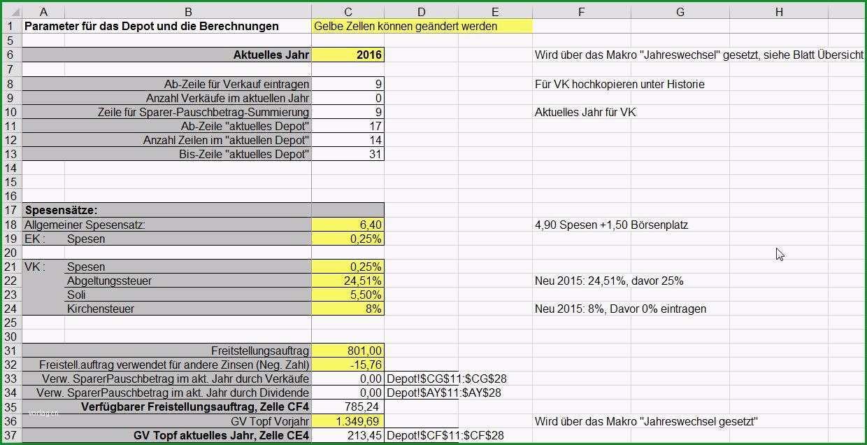 Aktiendepot in Excel verwalten