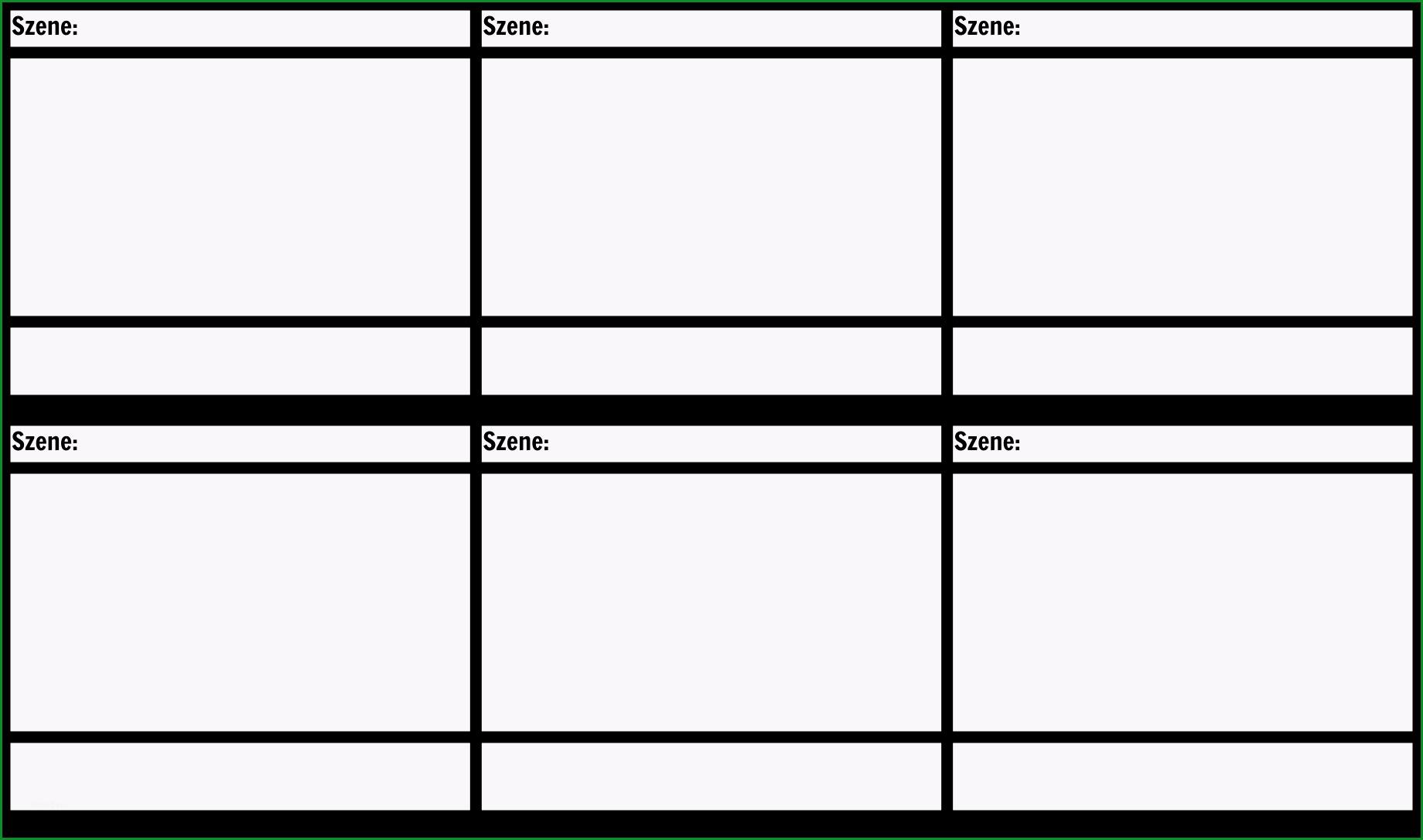 blank film storyboard vorlage