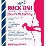 Ungewöhnlich Einladung Kindergeburtstag Klettern Vorlage